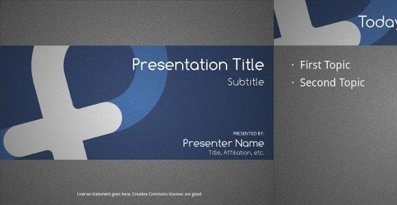 Plantillas gratuitas de openoffice y libreoffice para impress for Facebook powerpoint presentation template